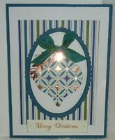 Stampin' Up! Ornament Card Kit BRIGHTLY GLEAMING Merry Christmas Copper Accents