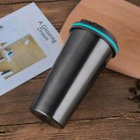 500ML Stainless Steel Leakproof Insulated Thermal Travel Coffee Mug Cup Flask
