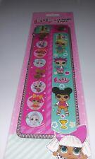 NEW 4 Pack LOL Surprise Doll Slap Rulers Birthday Party Favor Gift Bag Bracelet