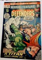 Marvel Feature #3 (Jun 1972, Marvel), VF, 3rd appearance of the Defenders