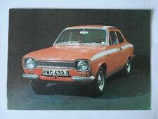 FORD ESCORT MEXICO MK1 orig c1970 UK Mkt Sales Leaflet Brochure