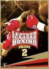 LEATHER AND CANVAS THE ULTIMATE BOXING COLLECTION Volume 2 Box Set 3DVD NEW