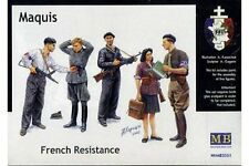 MasterBox MB3551 1/35 Maquis French Resistance