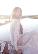 Robe dentelle brodée retro vintage Mori Japon shabby chic boheme