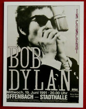 BOB DYLAN - CONCERT TOUR SERIES - Card #16 - OFFENBACH - STADTHALLE