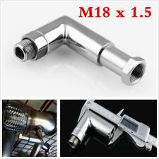 M18 x 1.5 O2 OXYGEN SENSOR ANGLED EXTENDER 90 DEGREE 02 BUNG EXTENSION SPACER