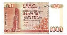 HONGKONG HONG KONG $ 1000 $ 1.000 BANK OF CHINA 2001 UNC P 334