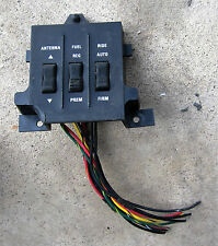 1987 -1988 Ford Thunderbird Turbo Coupe Ride Control Fuel & Antenna Switch 87 88
