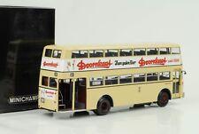 1958 Büssing D2U Bus Doppeldecker Doornkaat 1:43 Minichamps