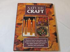 Nature Craft hardback book Tiger Books International crafting wreaths dollies ba