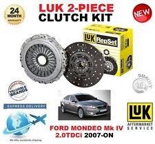 pour Ford Mondeo Mk IV BA7 2.0 TDCI à partir de 2007 KIT EMBRAYAGE LUK 2 pièces