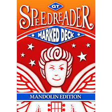 GT Speedreader Marked Deck (809 Mandolin Red Back) - Magic Trick