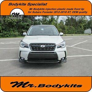 Quality Mr Plastic Front Bumper Lip/Splitter For Subaru Forester 2012-2018 XT