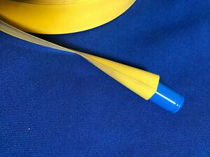 20pcs Heat Shrink Tubing-yellow(Size:W.3.2cm x L.12cm)For Protect safety parts