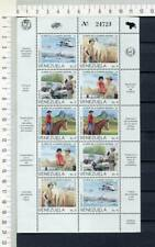 36404) VENEZUELA MNH** Nuovo** 1987 50th National Guard 10v m/s