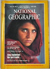 (TSL) National Geographic Magazine, June 1985 back - Steve McCurry's iconic pic