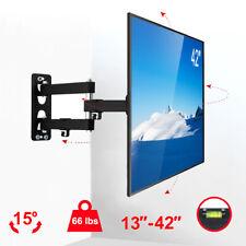Full Motion TV Wall Mount Bracket Swivel for 13 24 26 27 32 36 37 39 40 42 Inch