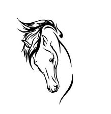 Horse Decal Window/Car/Truck ***AVAILABLE 20 COLORS***