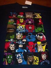 Marvel Comics VILLAINS HEROES T-Shirt XL BIG & TALL 1XLT NEW Avengers Daredevil