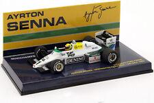 Ayrton Senna Williams Ford FW08C #1 Donington Park Test Formel 1 1983 1:43 Minic