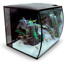 Fluval Flex 57 Liter LED Nano Aquarium mit Technick schwarz
