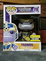 "Funko Pop! - Marvel Guardians of the Galaxy - Thanos (GITD) 6"" - EE EX - #78"