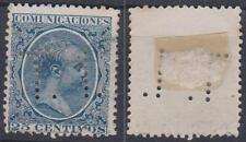 * Espagne * BABY ALFONSO XIII, 25 C, Sg.281