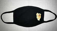 1 Face Mask Reusable Two Layers Cotton Washable dog golden retriever animal love