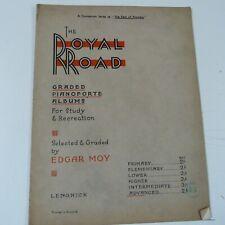 piano THE ROYAL ROAD Edgar Moy, ADVANCED