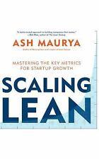 Ampliación lean: Mastering las métricas clave para el crecimiento de inicio