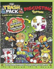 Trash Pack Disgusting Tattoos, New,  Book