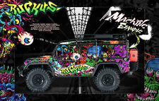 TRAXXAS TRX-4 DEFENDER SPORT GRAPHICS BODY WRAP 'RUCKUS' HOP-UP PARTS