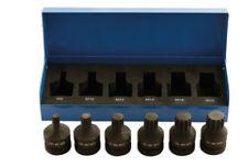 """LASER 4939 Spline Bit Set - 1/2""""D 6pc 8-18mm"""