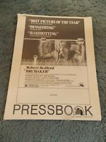 BRUBAKER(1980)ROBERT REDFORD ORIGINAL PRESSBOOK AND AD SECTIONS