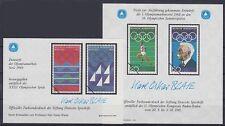 Bund Sporthilfe Entwurf 2x Block 1984 **, Olympiade 1968 / 1969, postfrisch, MNH