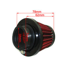 Performance 38mm Air Filter Cleaner For Chinese GY6 50cc QMB139 Moped Scooter