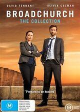 Broadchurch The Collection box set DVD NEW David Tennant Olivia Colman Region 4