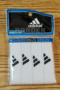 FREE FAST SHIP! BRAND NEW! Adidas CLIMALITE Interval 3/4 in Bicep Band AWESOME!!