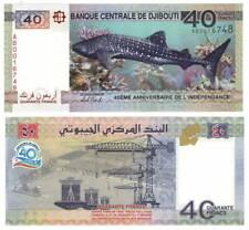 DJIBOUTI 40 FRANCS COMMEMORATIVE 2017 P-46 UNC - Banknotes Paper Money