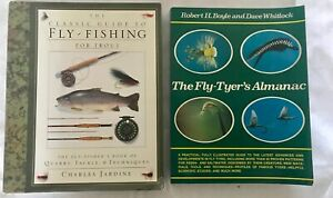 Lot of 2 Fly Fishing Books Fly-Tyers Almanac Boyle  & FF Trout Guide by Jardine