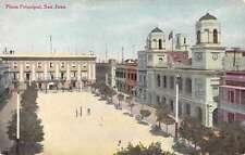 Plaza Principal San Juan Puerto Rico  Antique Postcard L2842