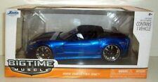 JADA 1/24 SCALE- 96804 BIGTIME MUSCLE 2006 CHEVROLET CORVETTE Z06 - BLUE