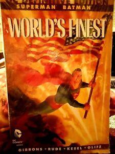 DC COMICS MEXICO DEFINITIVE ED SUPERMAN BATMAN WORLD'S FINEST SPANISH ESPAÑOL