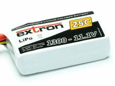 3S Lipo Akku extron X2 1300mAh 11,1V 25-50C XT60 Stecker XH Balancer X6409