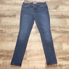 ANN TAYLOR LOFT Women's MODERN SKINNY Blue Jeans / Denim Size 30/10