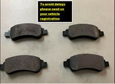 FOR PEUGEOT 208 1.4 HDI 2012-2016 FRONT BRAKE PADS