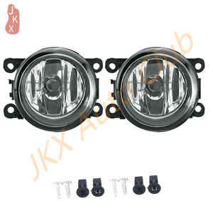 For Peugeot 207 307 407 607 3008 SW CC VAN 2000-2013 2X Fog Lights o Bumper Lamp