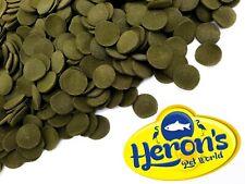 More details for herons pleco wafers algae spirulina cory plec catfish premium tropical fish food