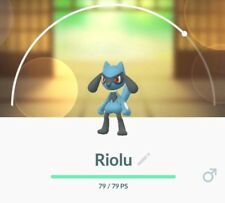 Pokemon go  Riolu !!