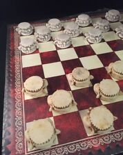 CHECKERS Made In Italy COMOUS OF LONDON Chess BOARD GAMES